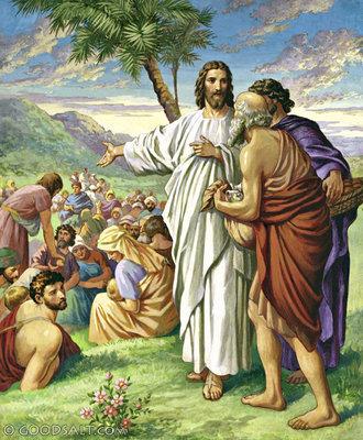 MUKJIZAT - YESUS MEMBERI MAKAN 5000 ORANG